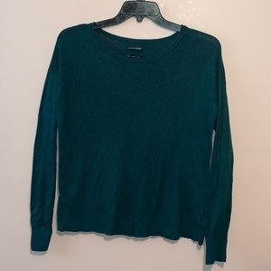 American Eagle Ahh-Mazingly Soft Teal Sweater